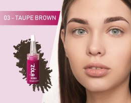 ZOLA Henna do brwi Taupe Brown